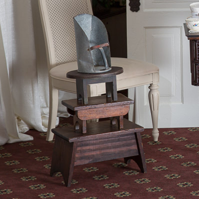 assorted foot stools