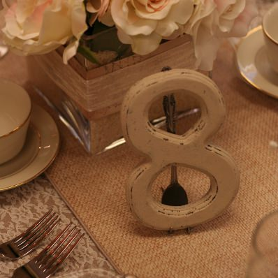 Shabby-Chic Table Numbers