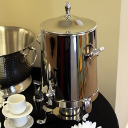 stainless coffee dispenser