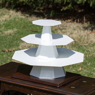 Wedding Cake Stand With Fountain