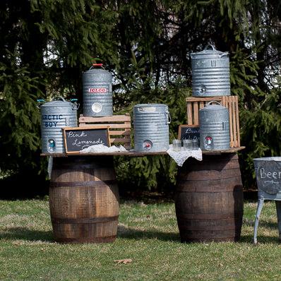 Whiskey Barrel Bar
